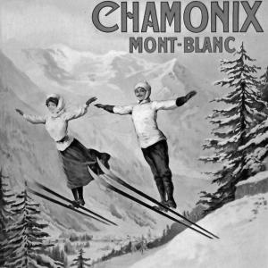 Affiche Chamonix carré retouché